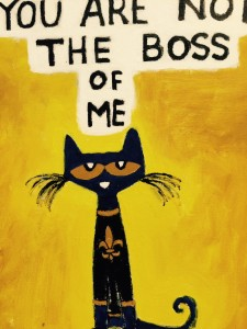 Your are Not the Boss of Me