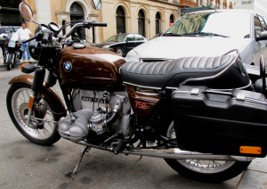 Handsome BMW R75