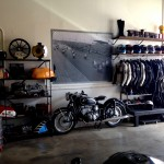 Vintage Motorcycle Garage Rental