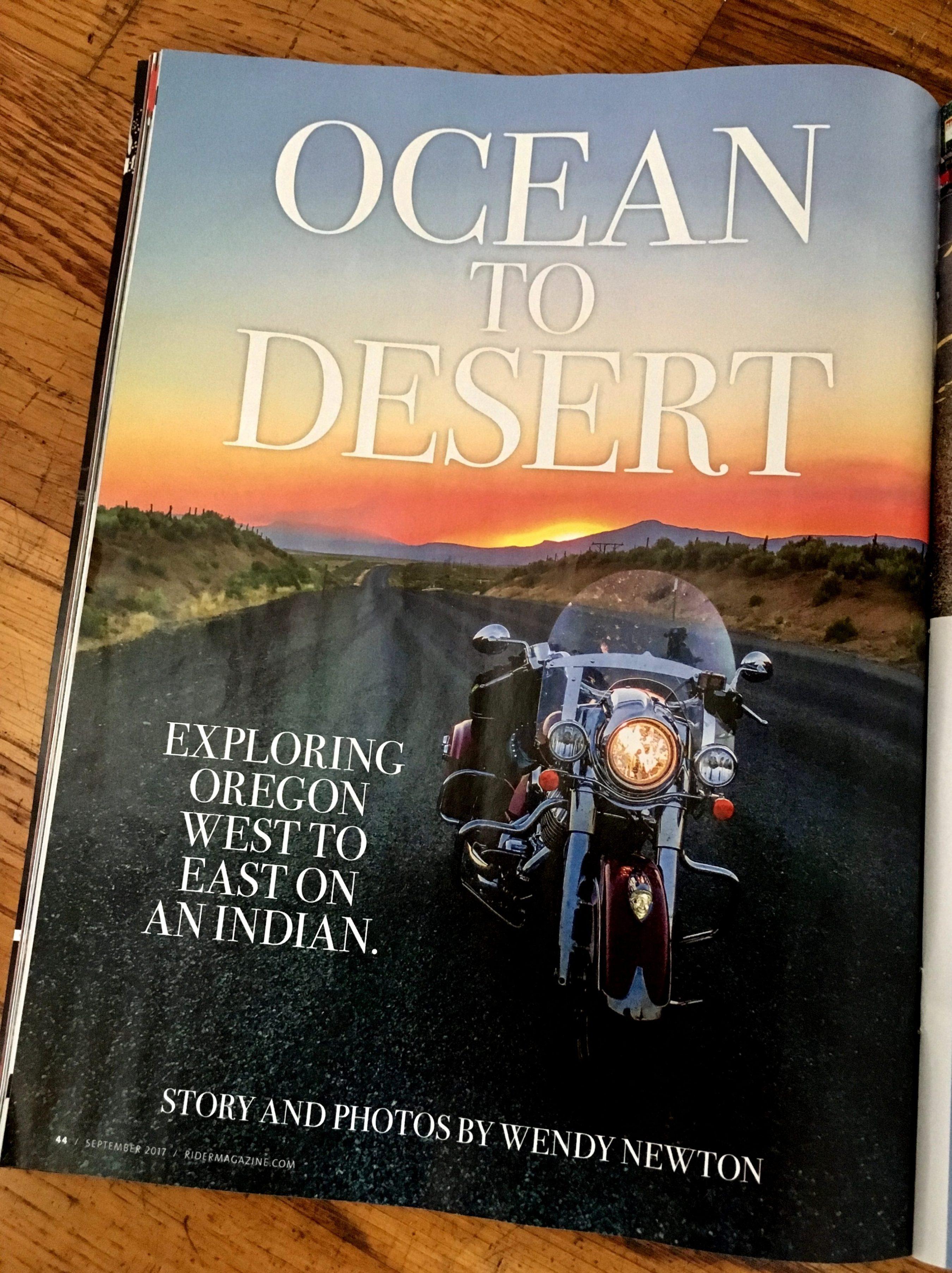 Ocean to Desert